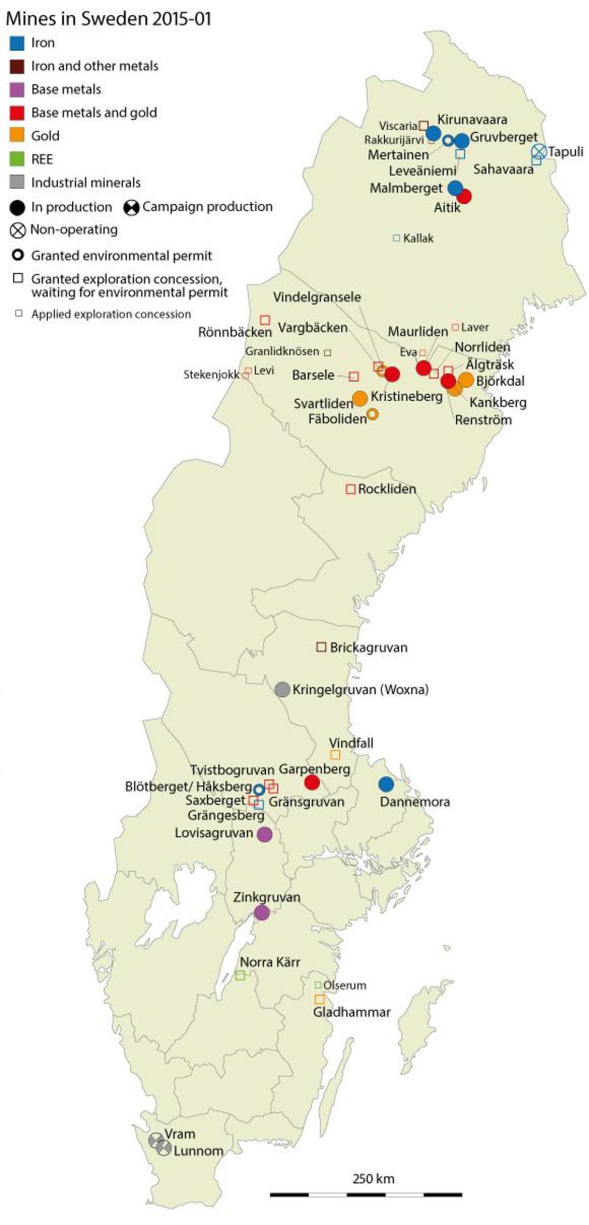 sweden natural resources
