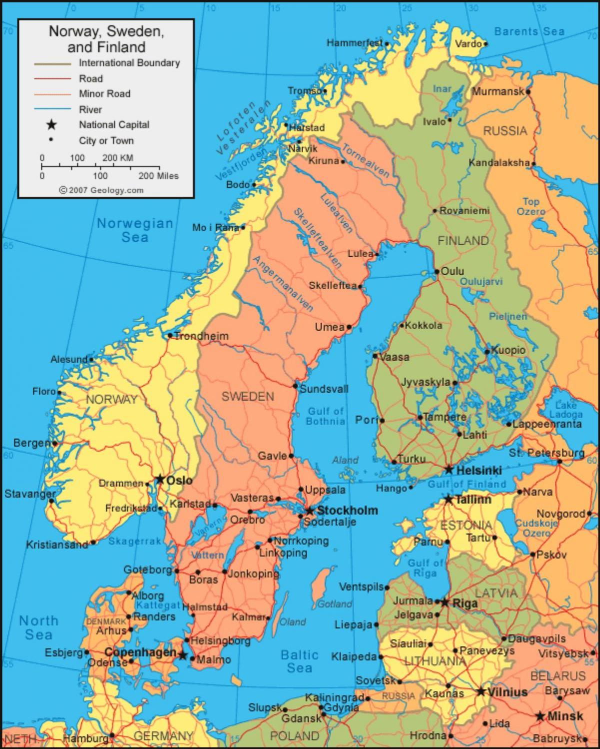 Irrland Schweden